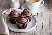 Cup cake choco vanille